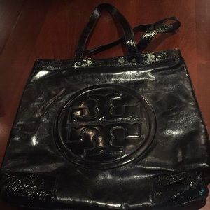 Tory Birch large leather tote